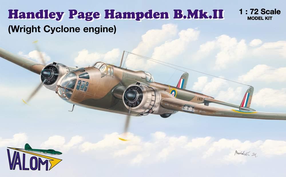 Valom Handley Page Hampden B.Mk.II (W.Cyclone)