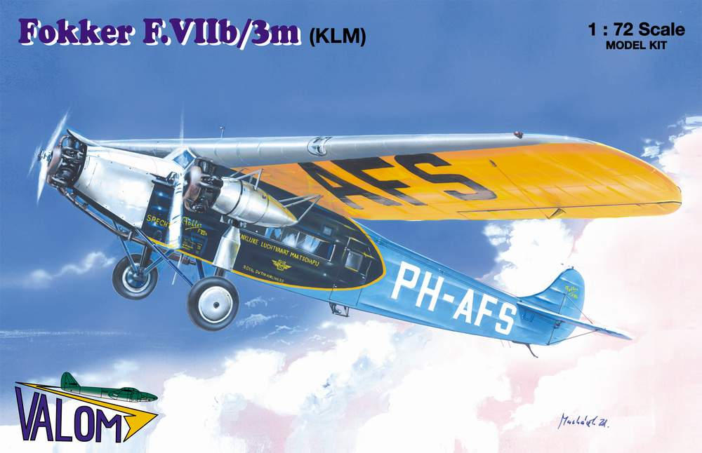Valom Fokker F.VIIb/3m (KLM)