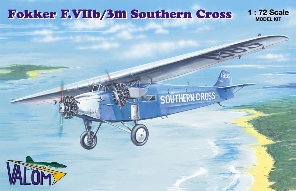 Valom 1/72 Fokker F.VIIb/3m Southern Cross