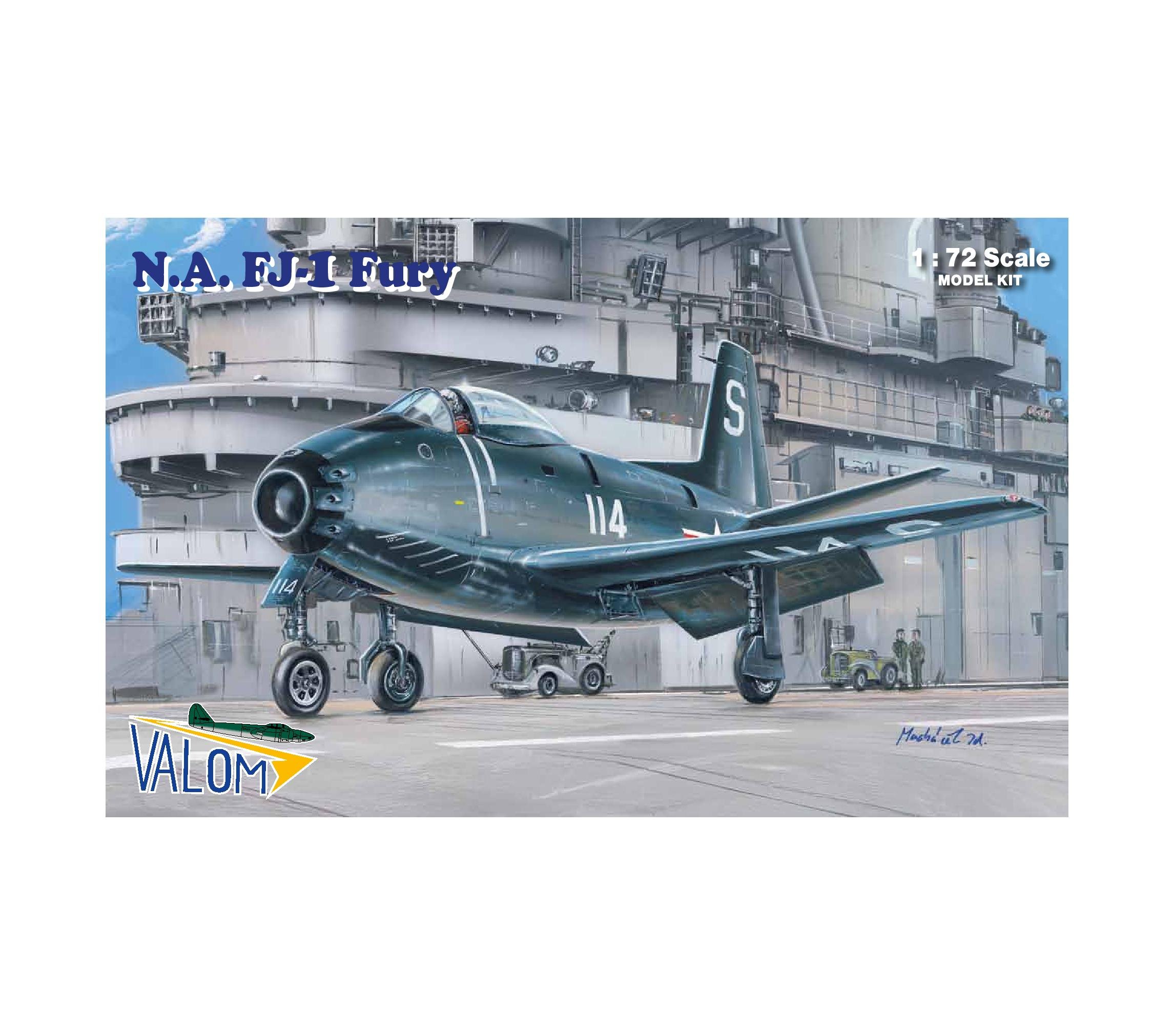 Valom N.A. FJ-1 Fury