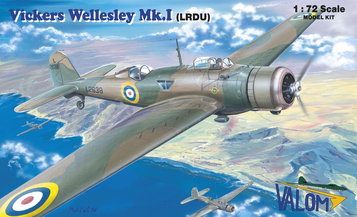 Valom Vickers Wellesley Mk.I (LRDU)