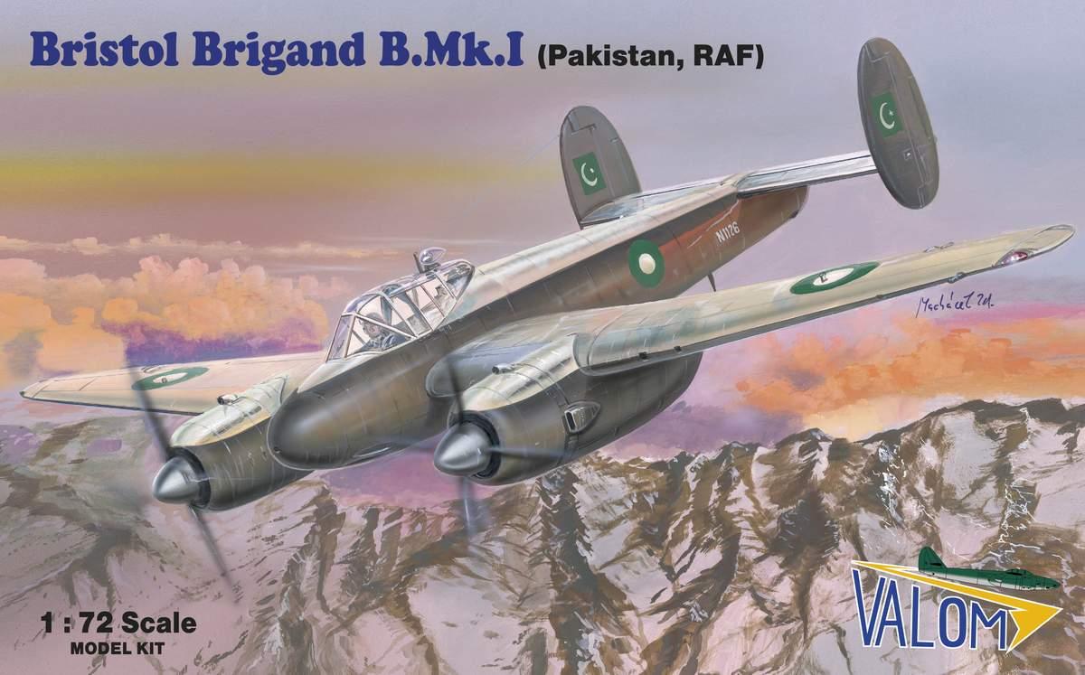Valom Bristol Brigand B.Mk.I (PAF, RAF)