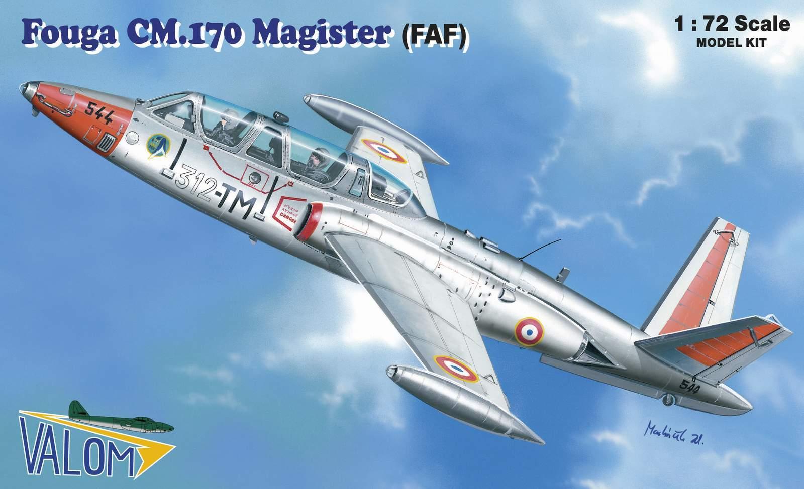 Valom Fouga CM.170 Magister (FAF)