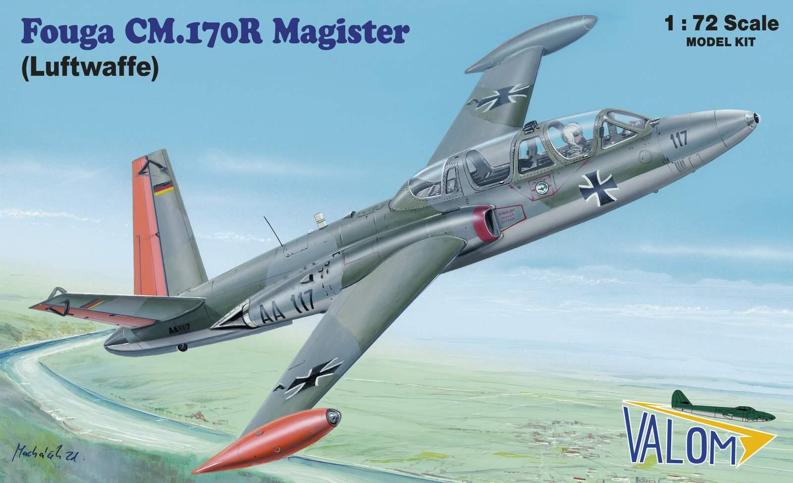 Valom Fouga CM.170R Magister (Luftwaffe)