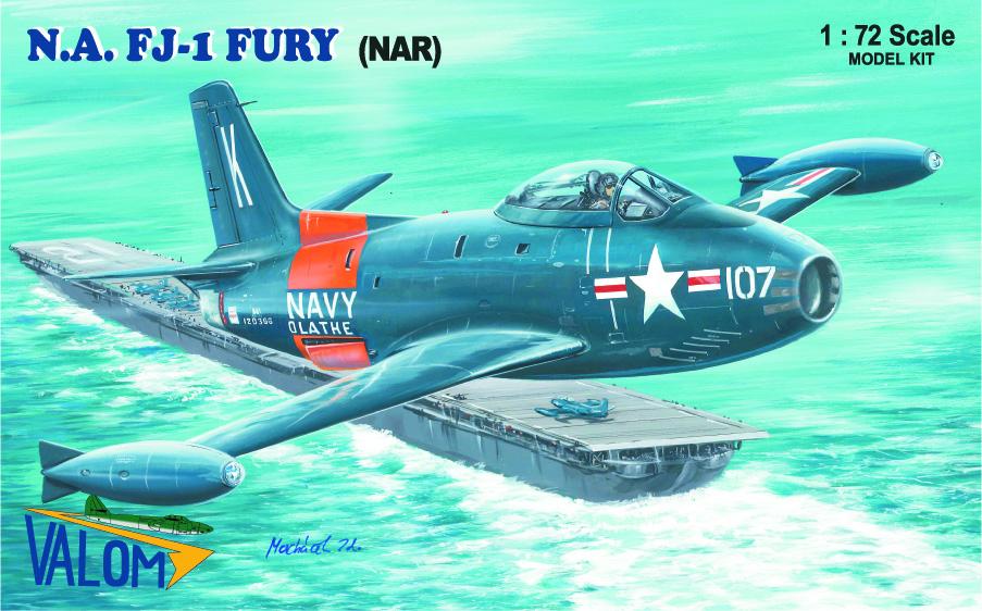Valom N.A. FJ-1 Fury (NAR)