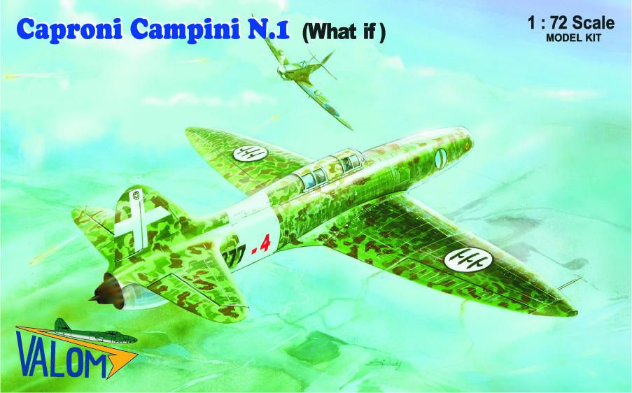 Valom 1/72 Caproni Campini N.1 (What If)