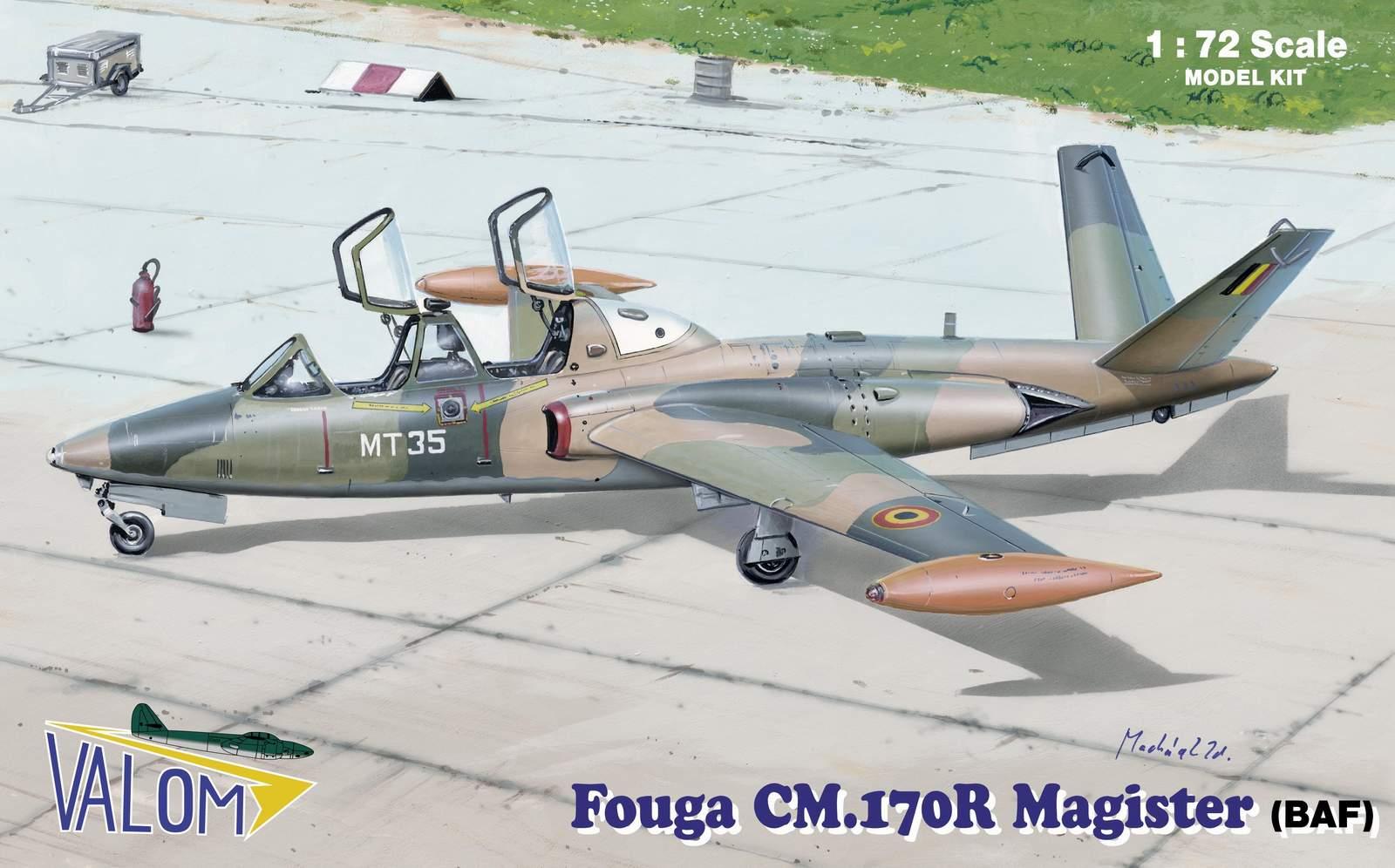 Valom Fouga CM.170R Magister (BAF)