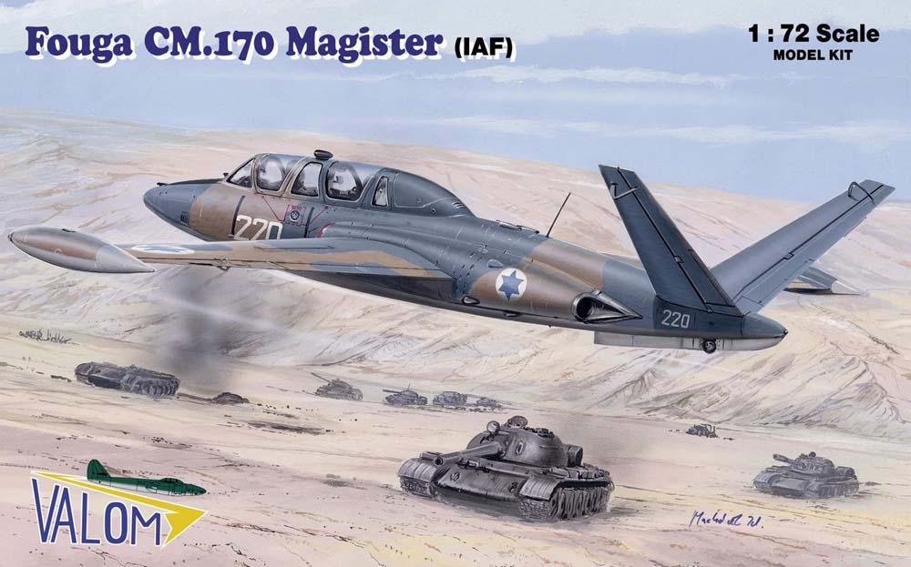 Valom Fouga CM.170 Magister (IAF)