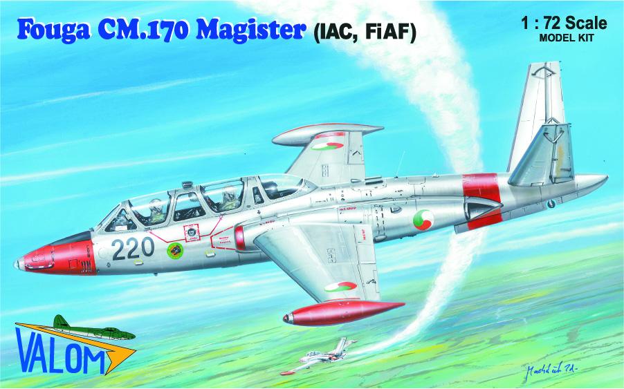 Valom Fouga CM.170 Magister (IAC, FiAf))