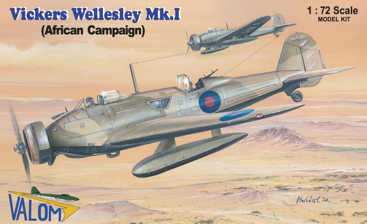 Valom Vickers Wellesley Mk.I (African campaign)