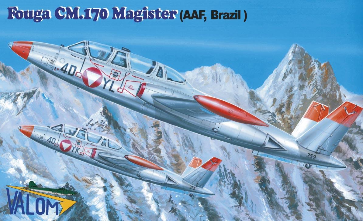 Valom Fouga CM.170 Magister (AAF, Brazil)