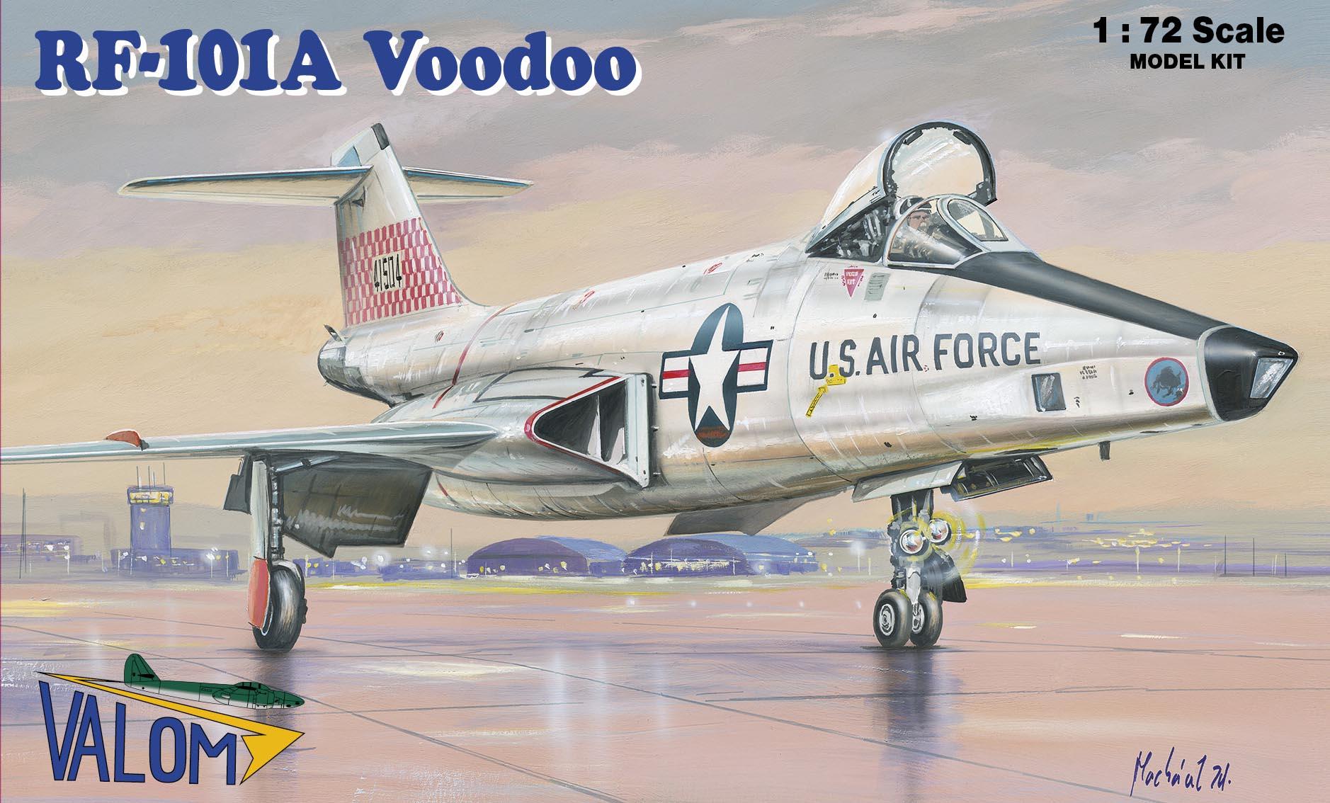 Valom 1/72 RF-101A Voodoo