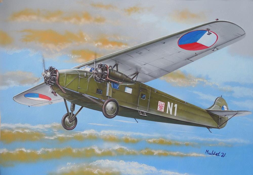 Valom Avia-Fokker F.VIIb.1