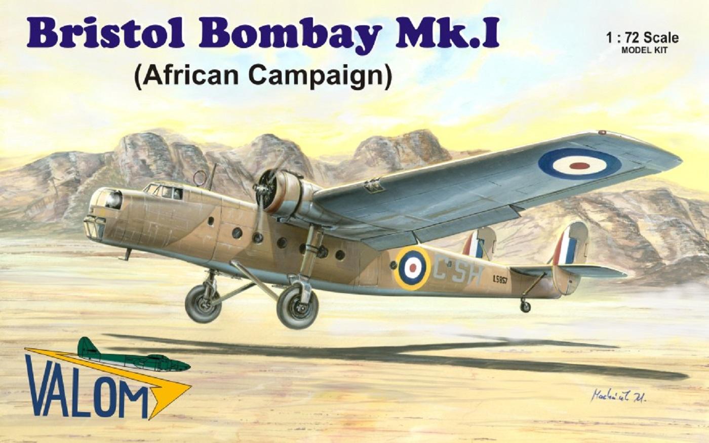 Valom Bristol Bombay Mk.I (African campaign)