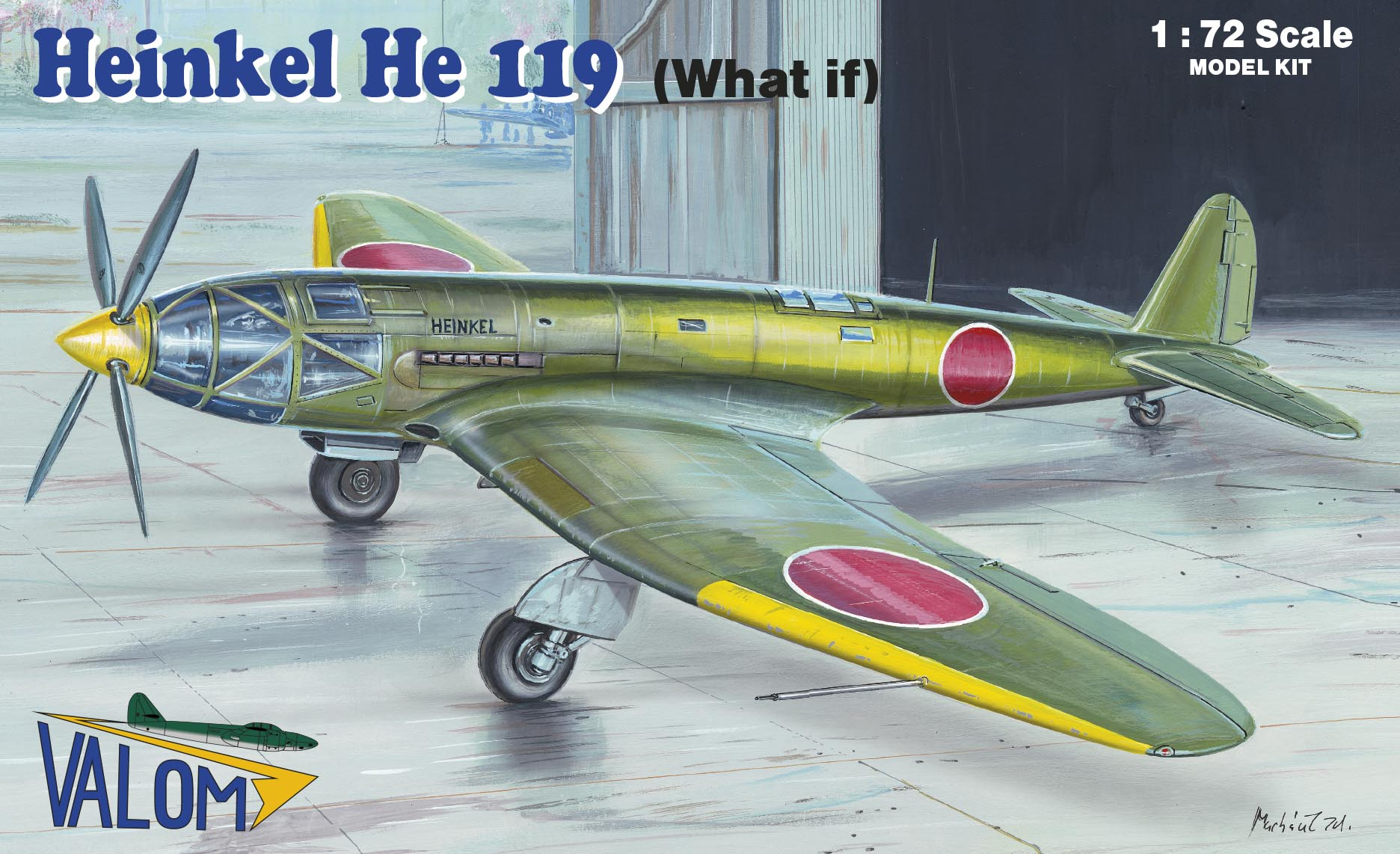 Valom Heinkel He 119 (What if)