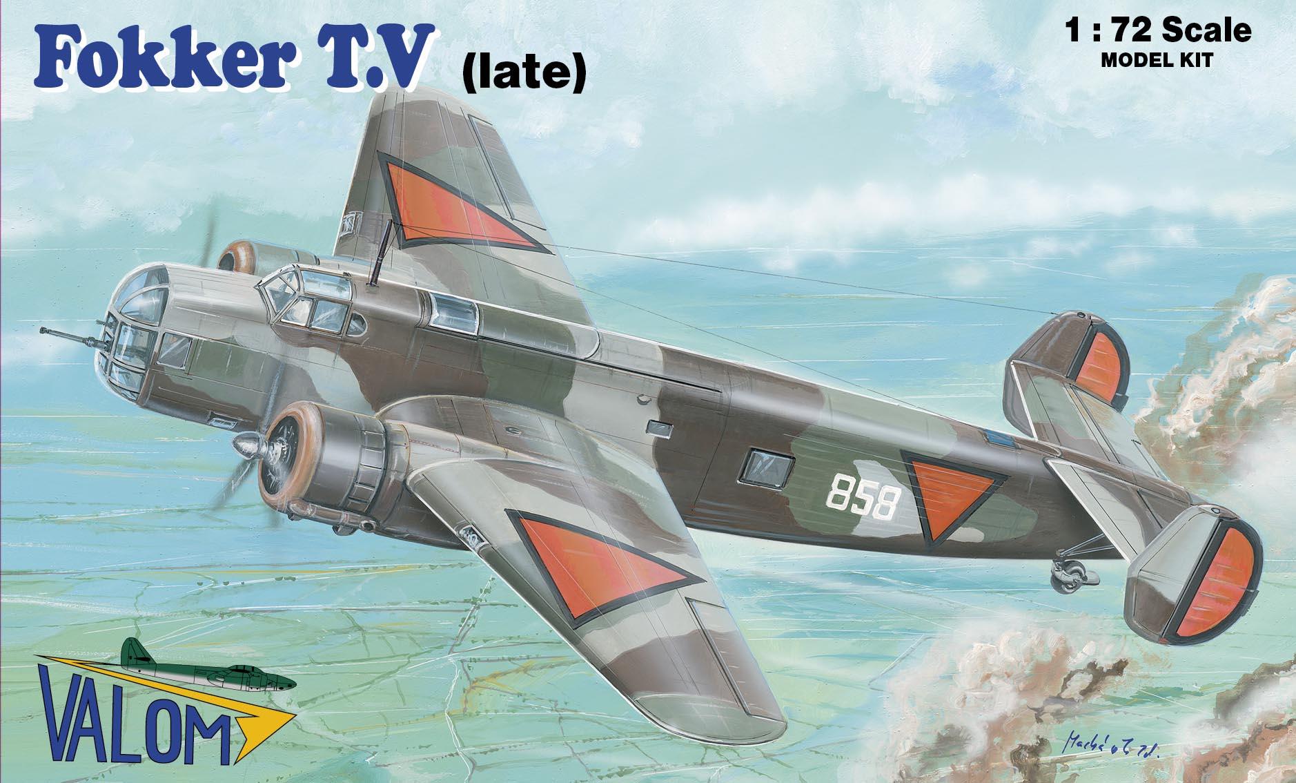 Valom Fokker T.V (late)