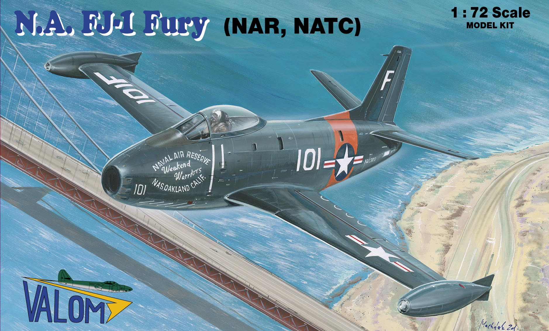 Valom N.A. FJ-1 Fury (NATC, NAR)