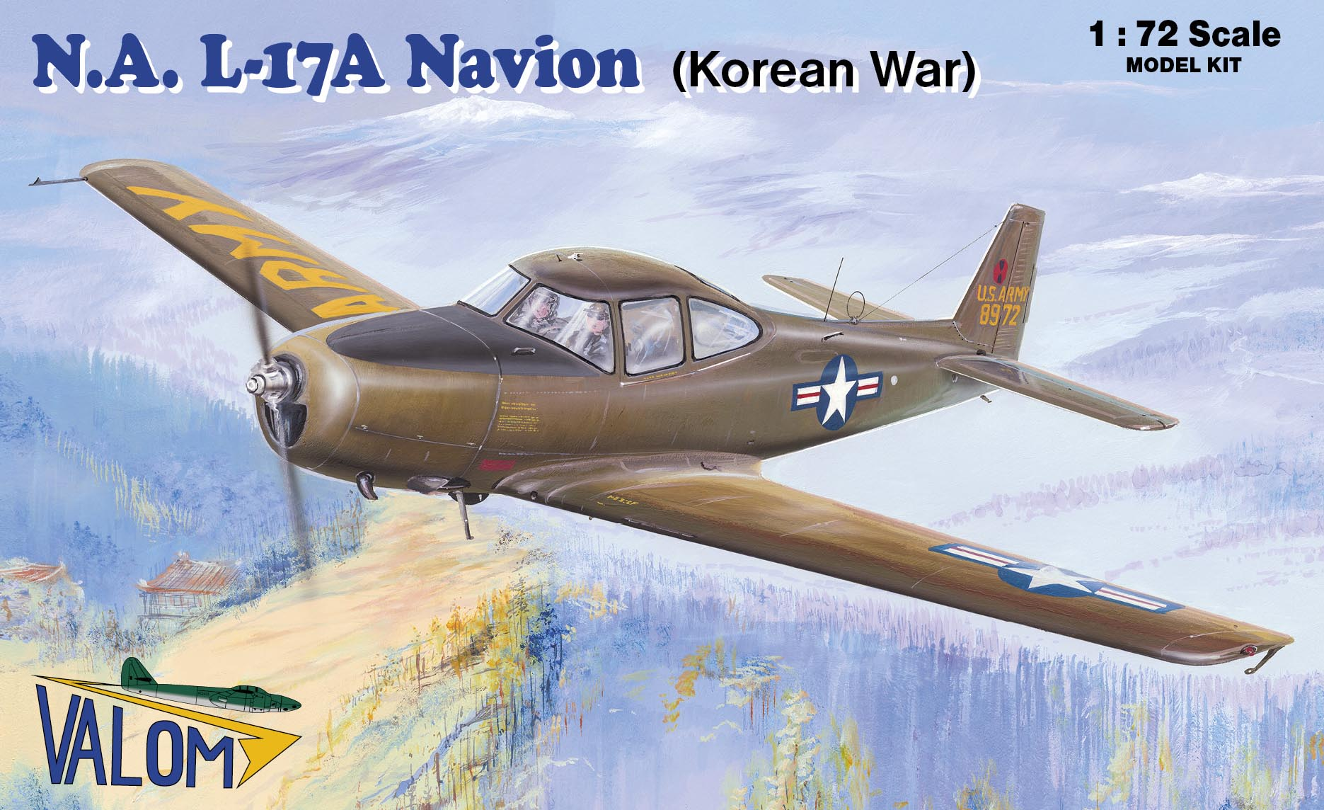 Valom N.A. L-17A Navion (Korean War)