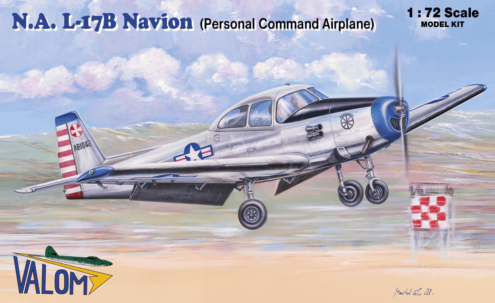 Valom N.A. L-17B Navion (Personal command aircraft)