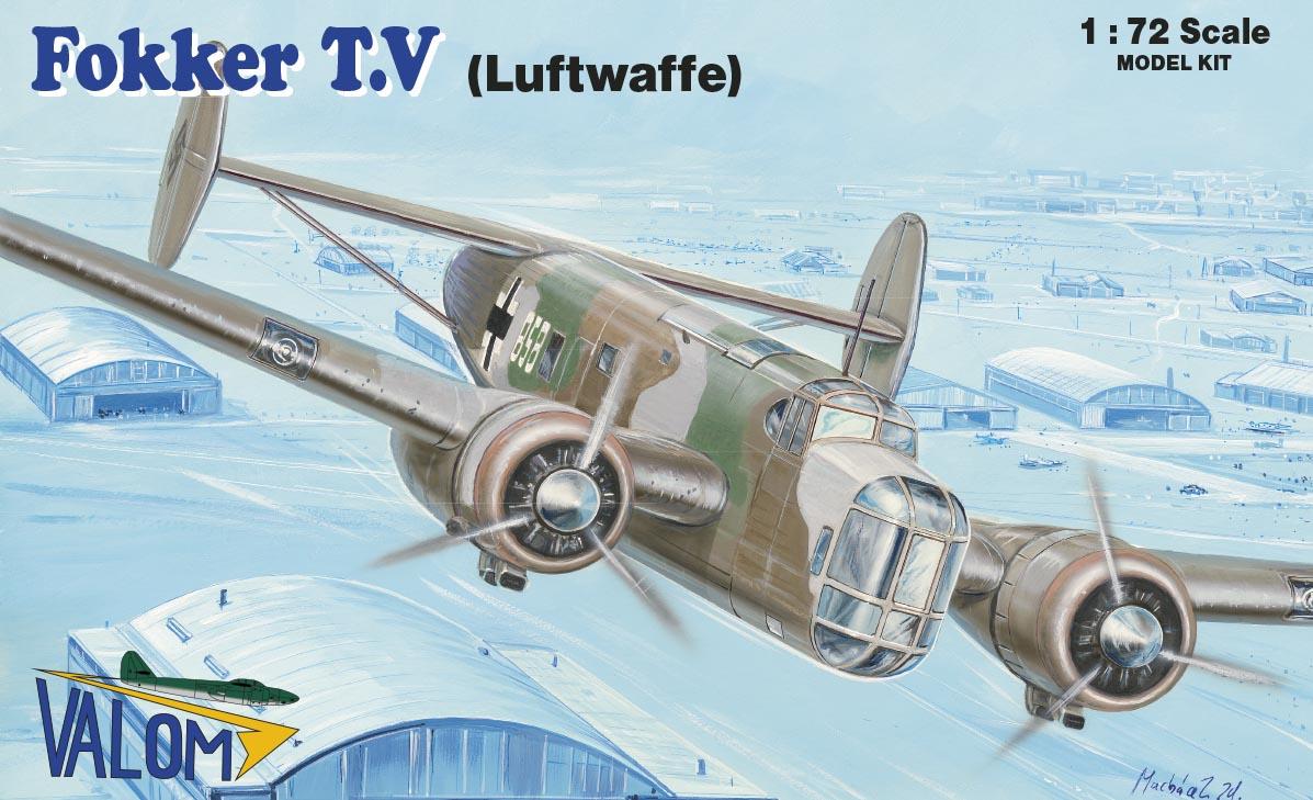 Valom Fokker T.V (Luftwaffe)