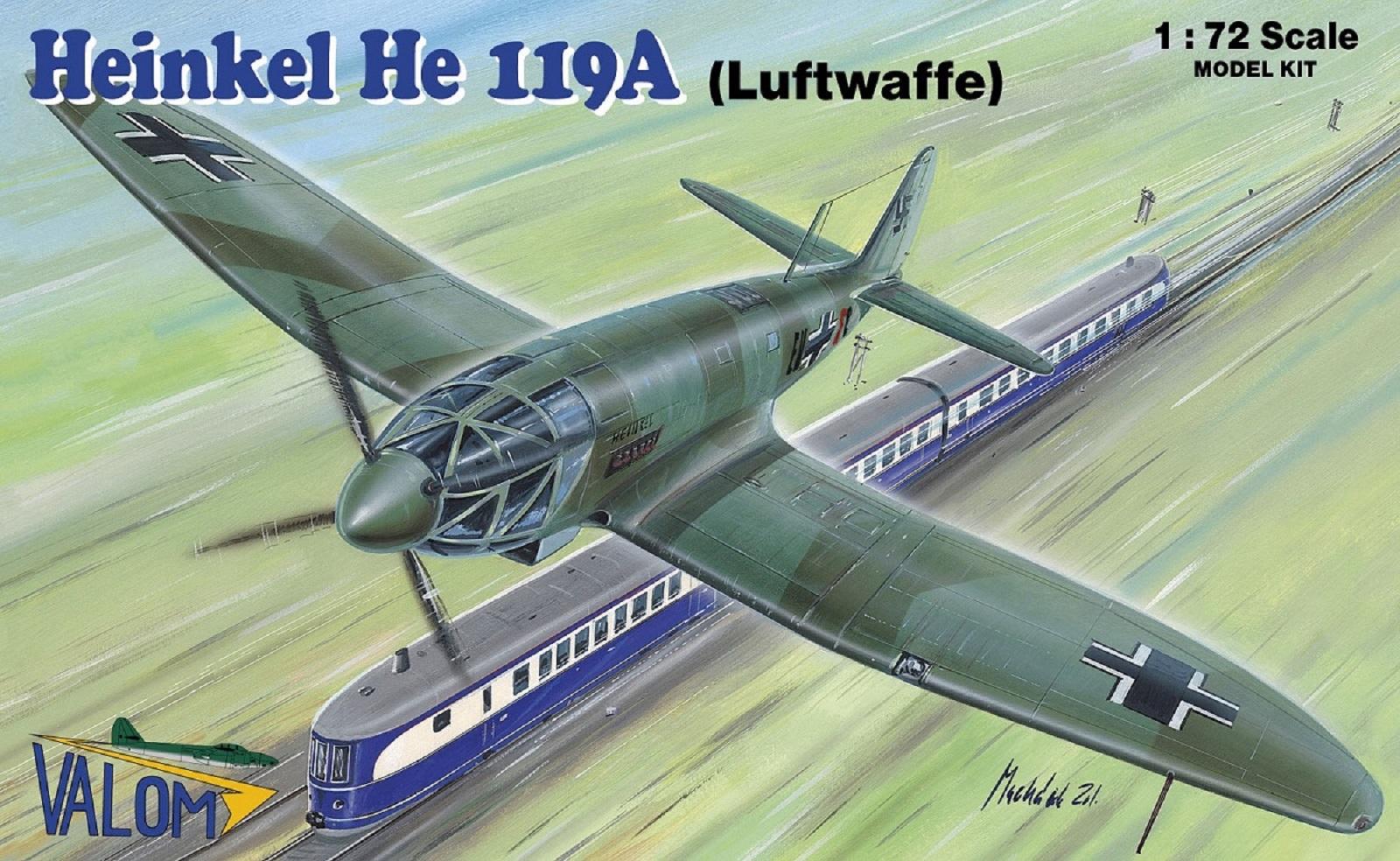 Valom Heinkel He 119A (Luftwaffe)