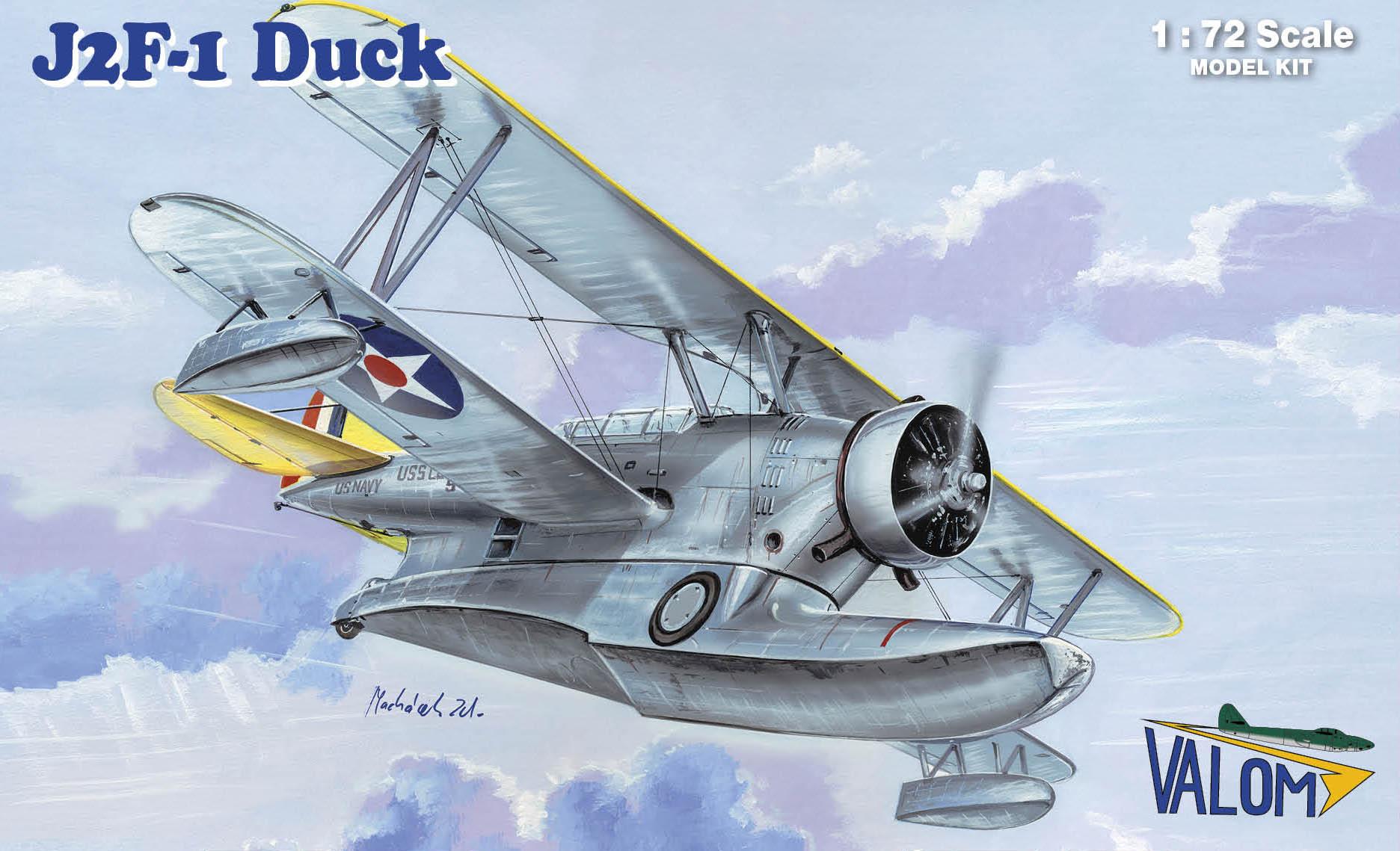 Valom Grumman J2F-1 Duck