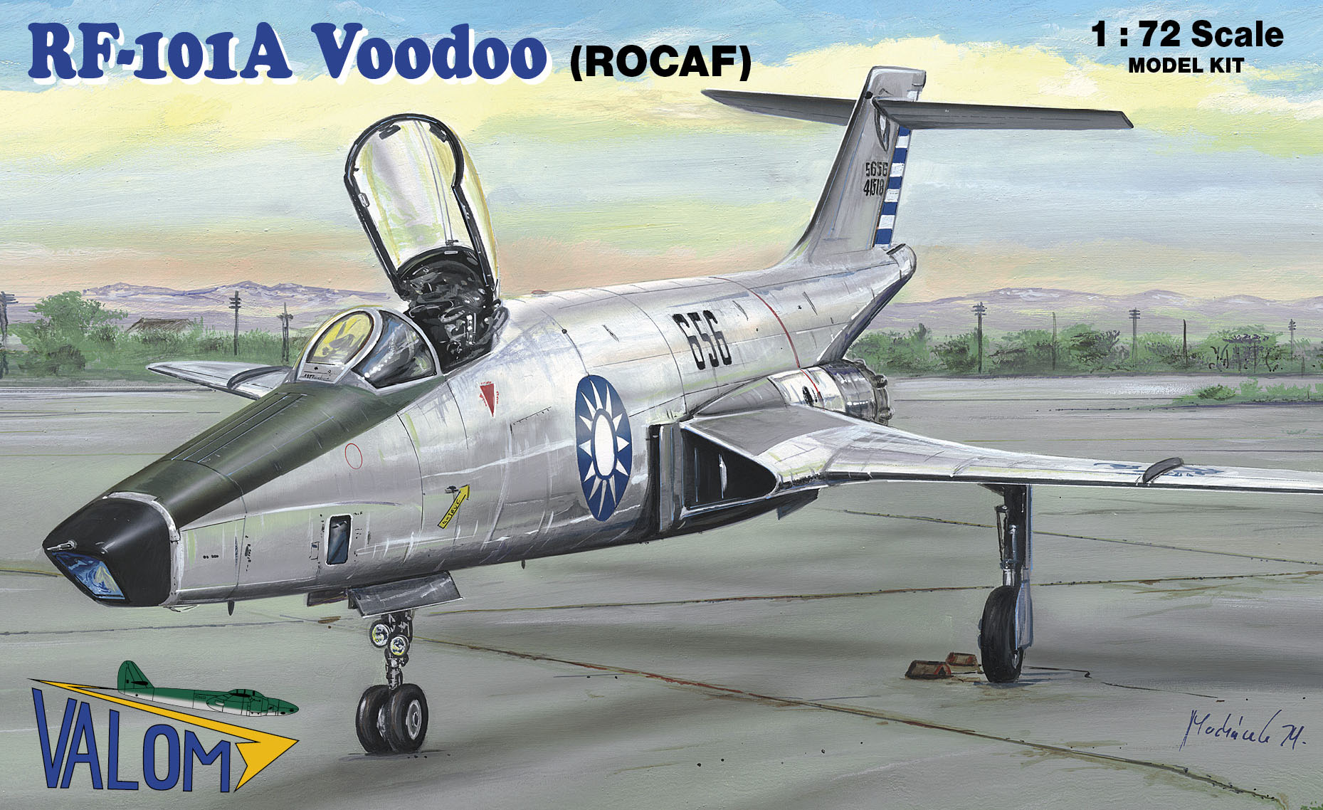 Valom RF-101A Voodoo (ROCAF)