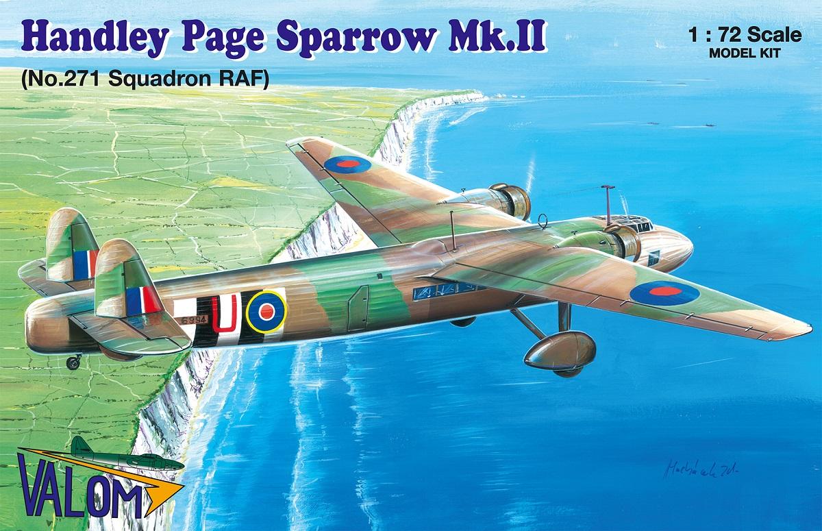 Valom Handley Page Sparrow Mk.II (271 Sqn. RAF)