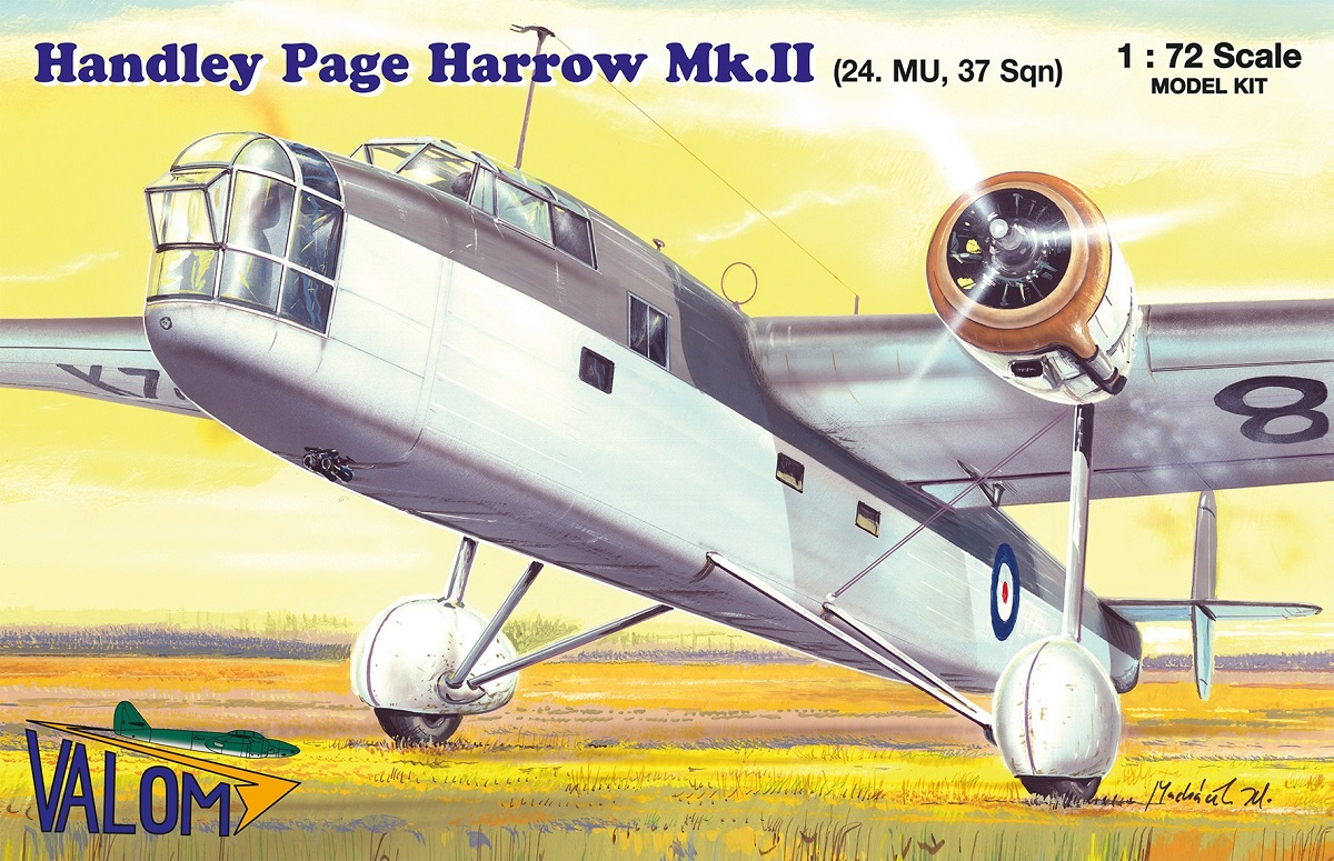 Valom Handley Page Harrow Mk.II (24. Maint unit)