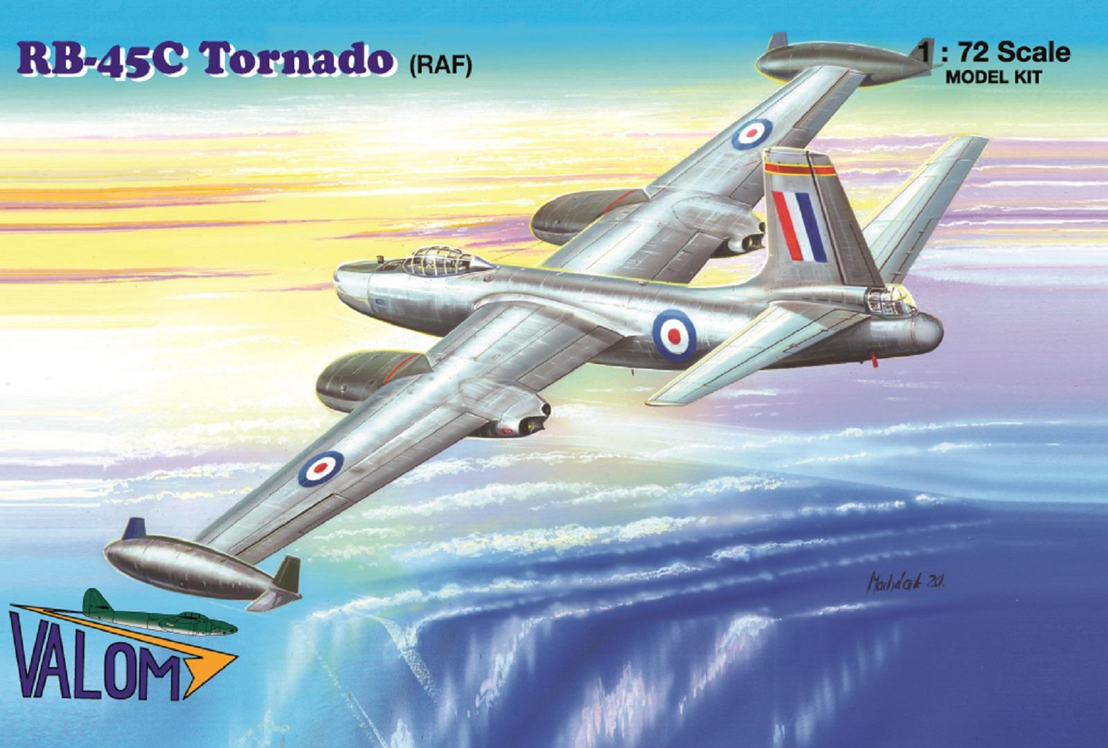 Valom N.A. RB-45C Tornado (RAF)