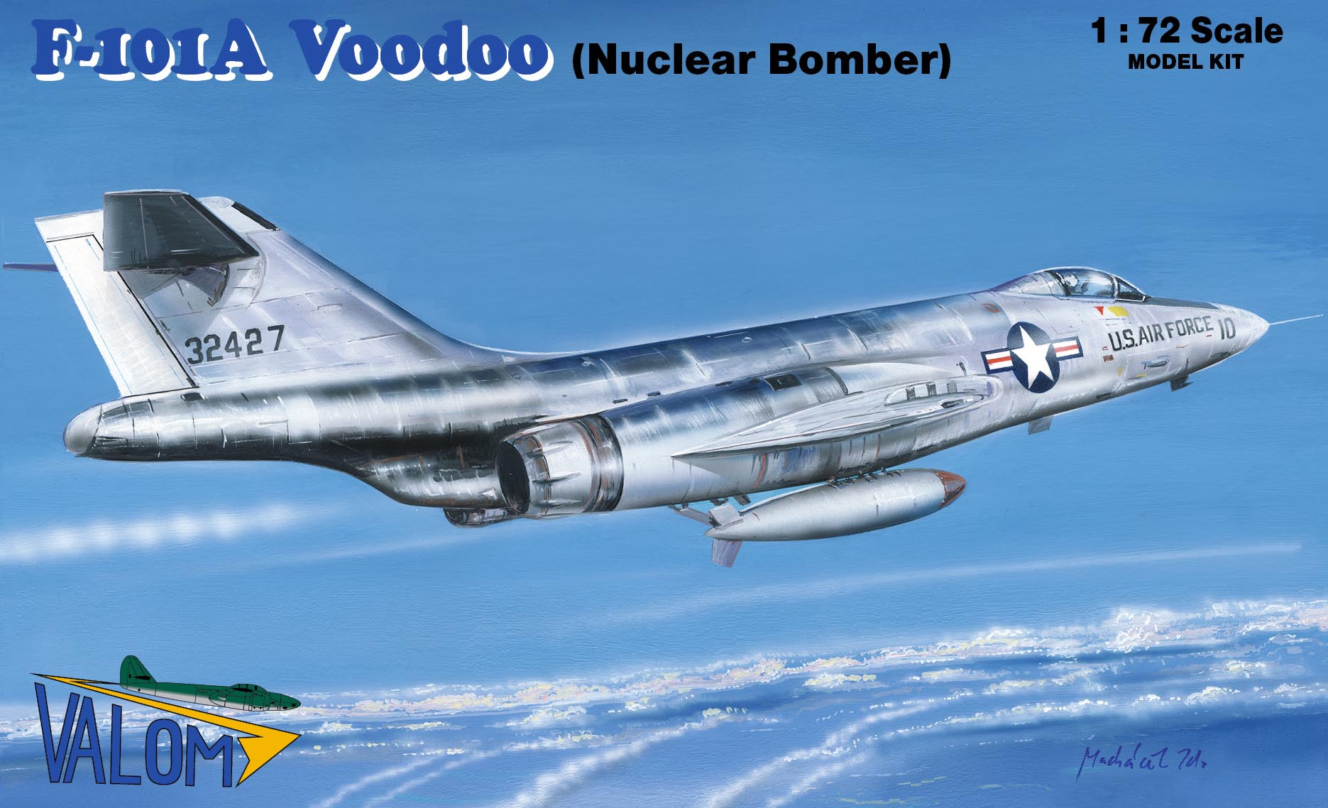 Valom F-101A Voodoo (Nuclear bomber)