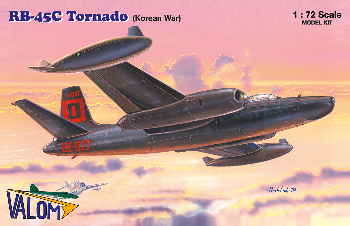 Valom N.A. RB-45C Tornado (Korean War)