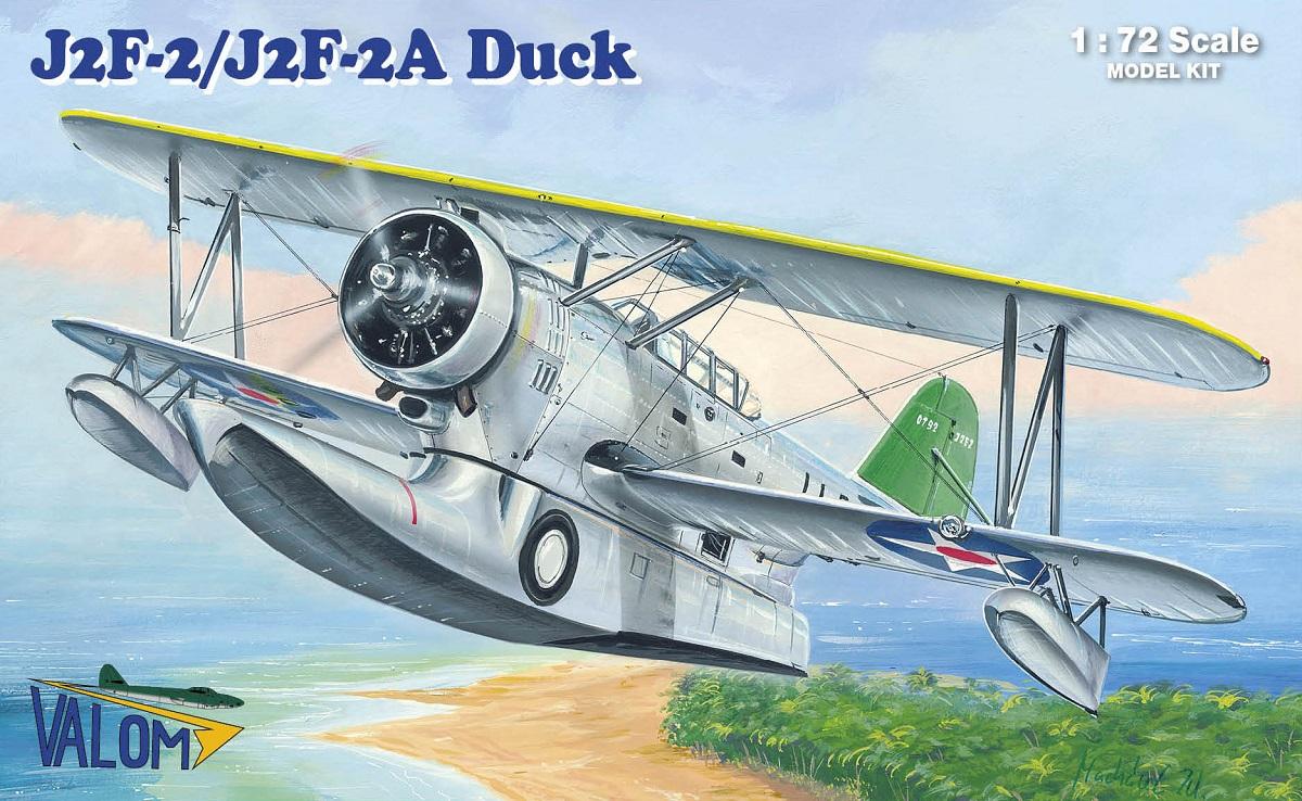 Valom Grumman J2F-2/J2F-2A  Duck