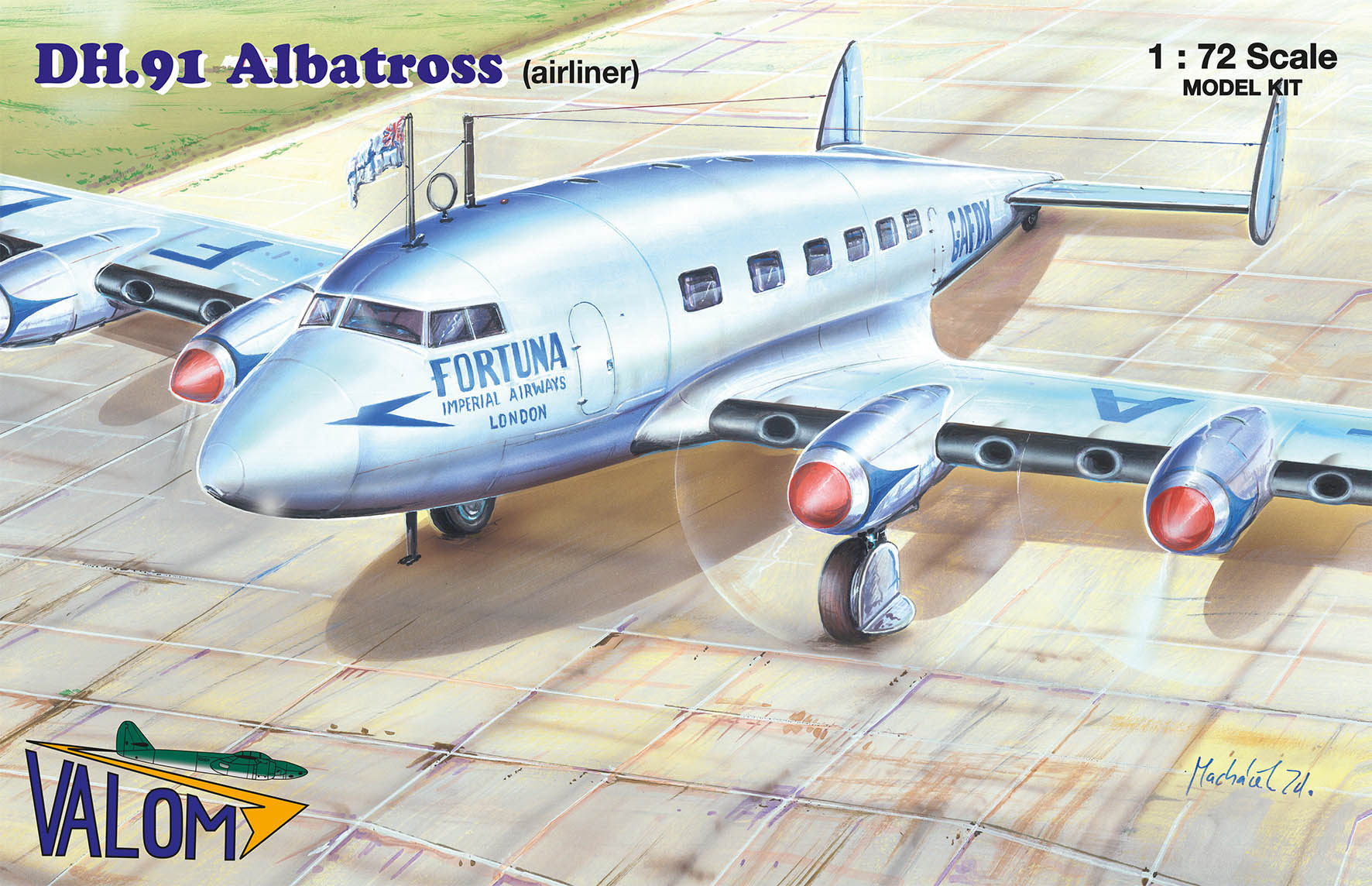 Valom DH.91 Albatross (airliner)