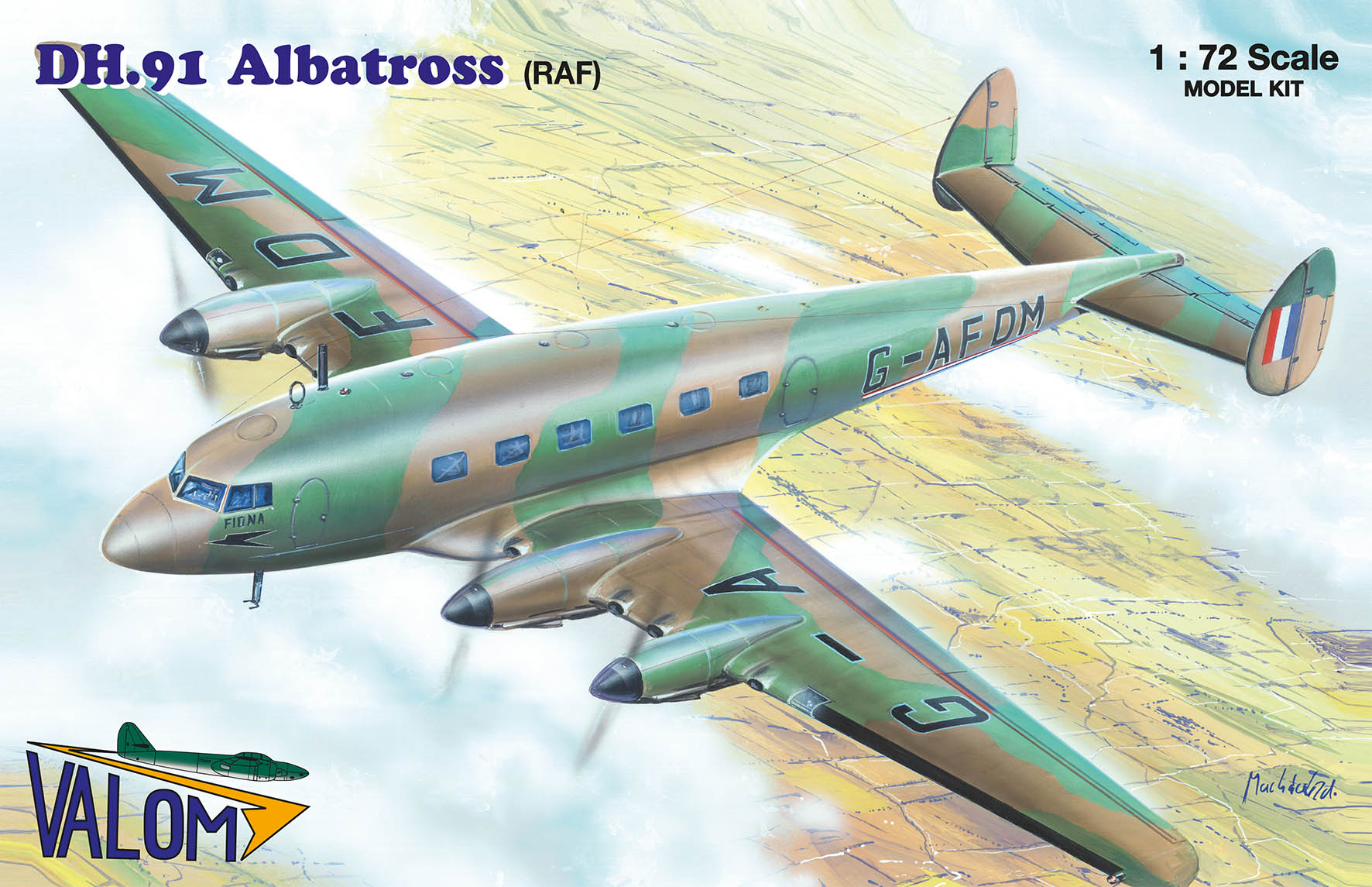 Valom DH.91 Albatross (RAF)