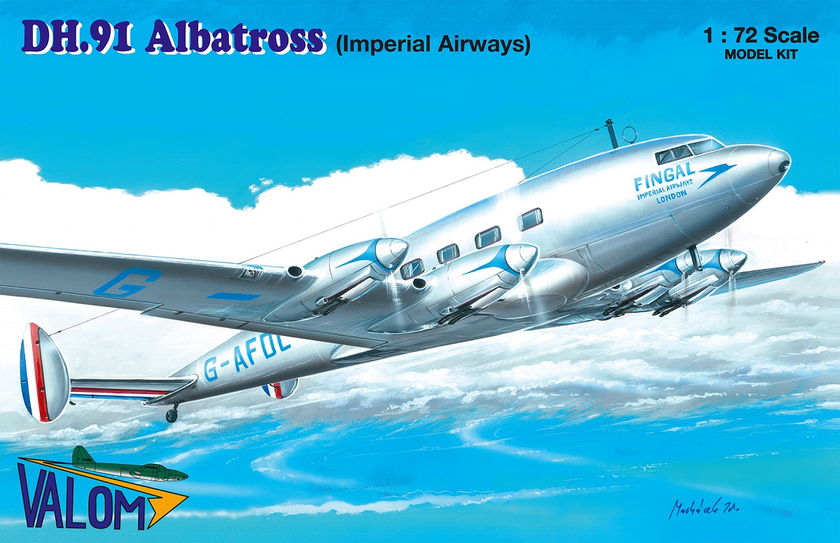Valom DH.91 Albatross (Imperial Airways)