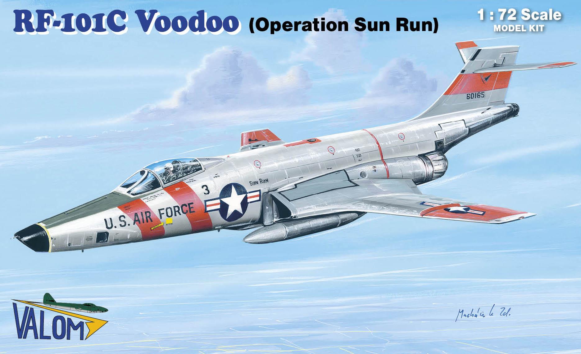 Valom RF-101C Voodoo (SUN-RUN)