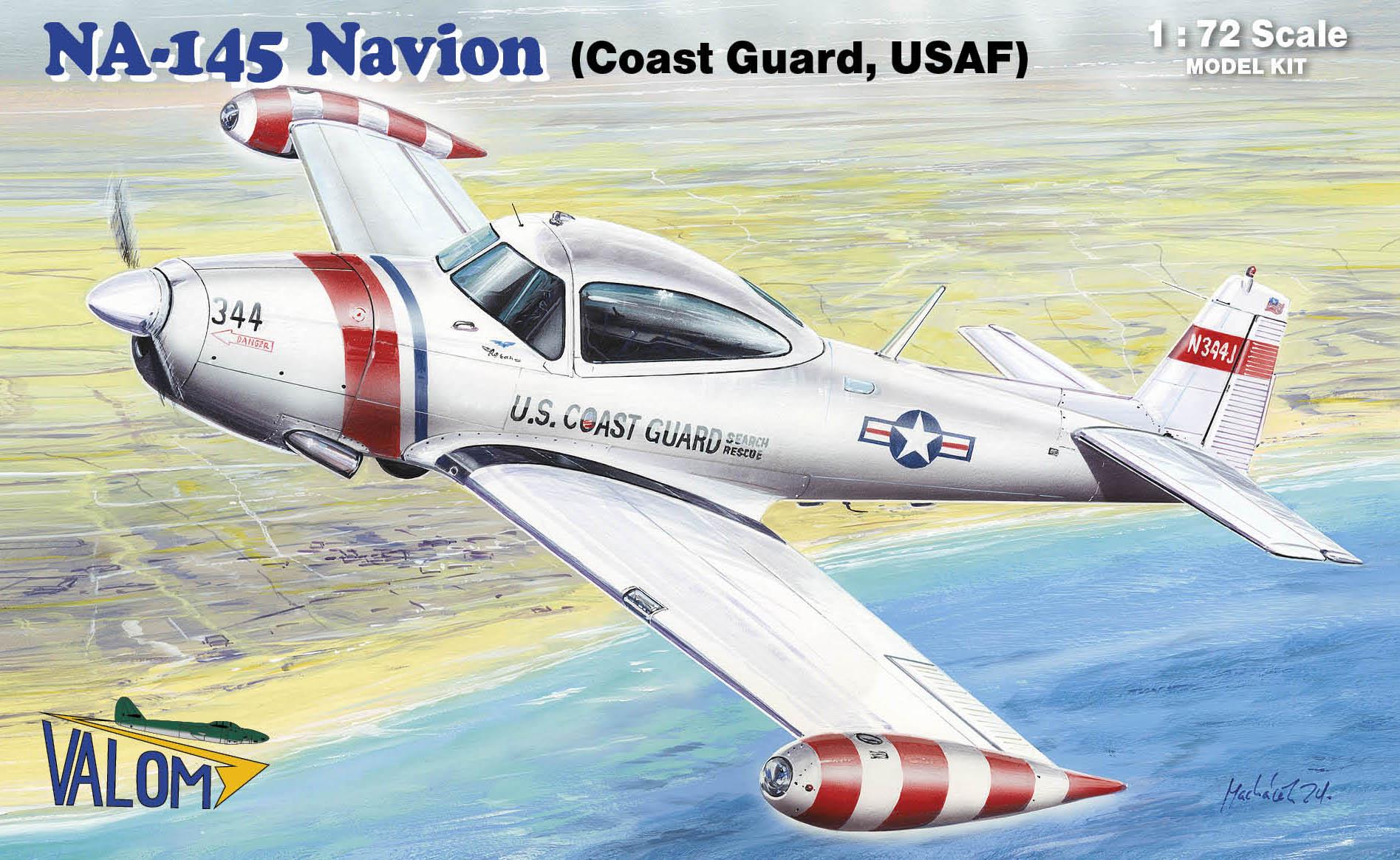 Valom  N.A. NA-145 Navion ((USAF, Coast Guard)