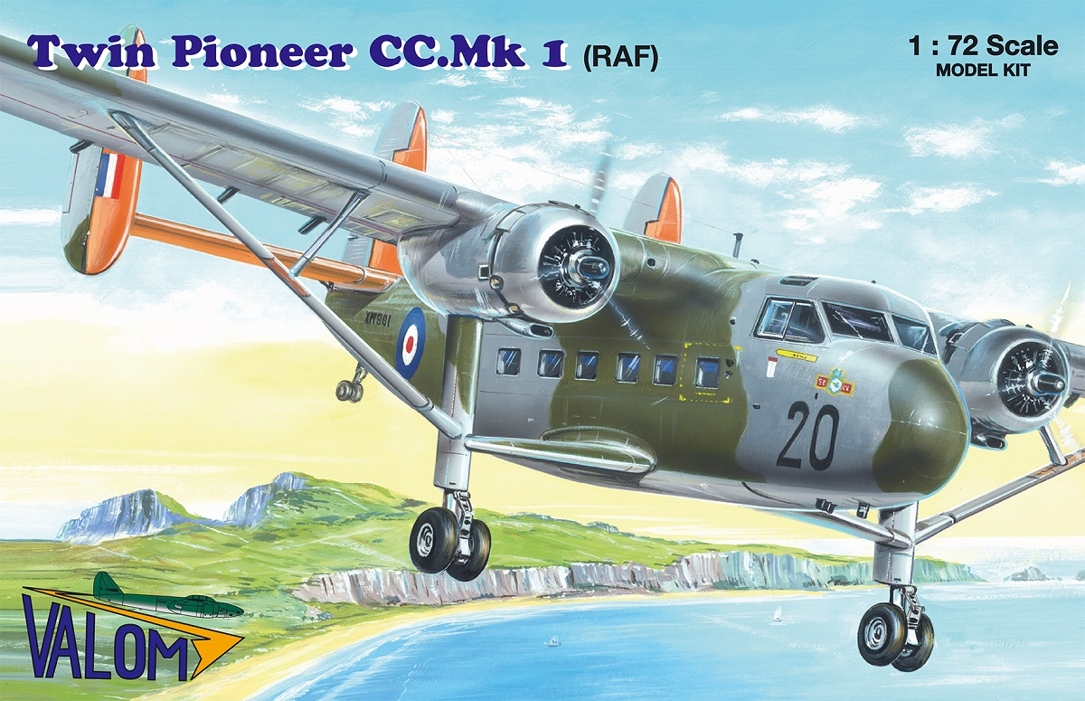 Valom Scottish Aviation Twin Pioneer CC.Mk.I (RAF)