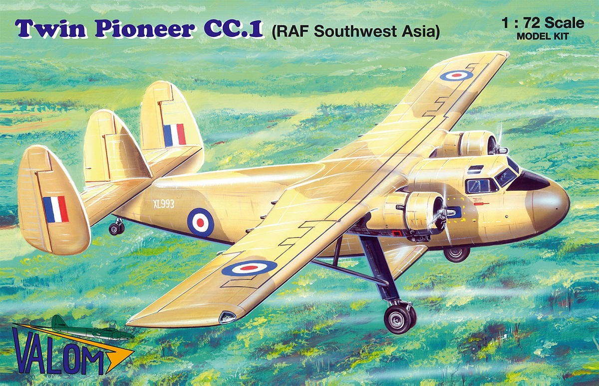 Valom Scottish Aviation Twin Pioneer CC.1 (RAF Southwest Asia)