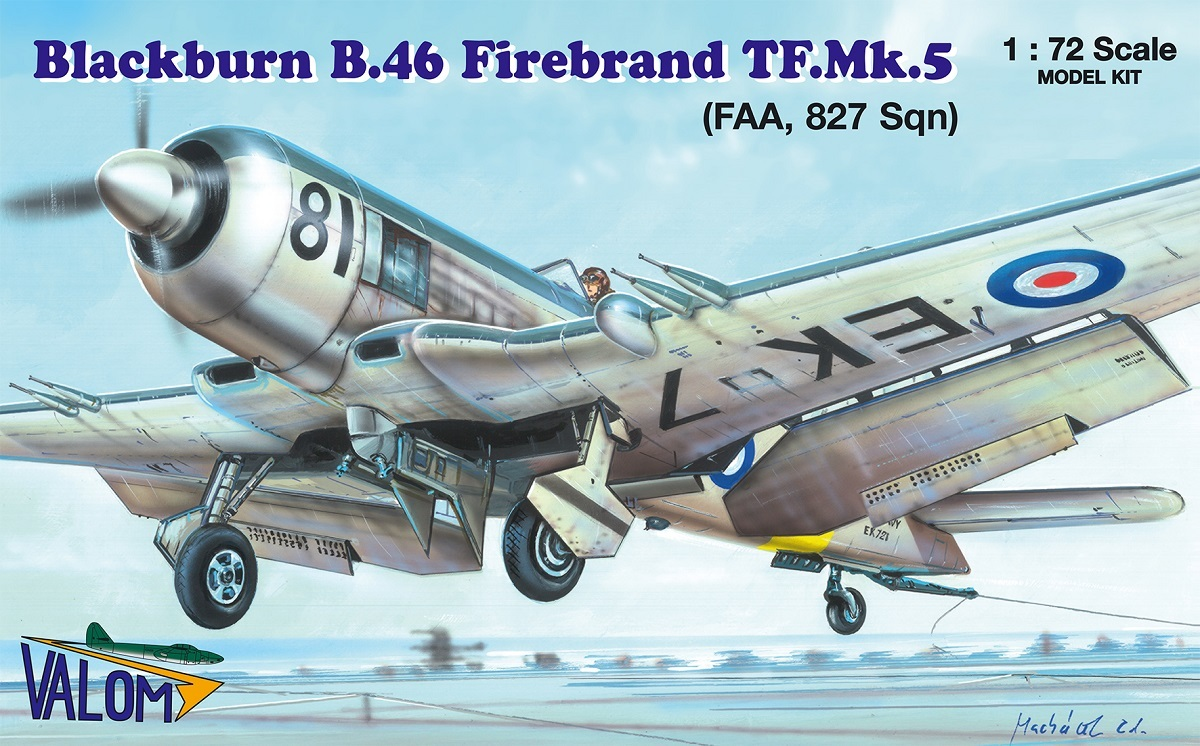 VALOM Blackburn Firebrand TF.Mk.5 (FAA, 827 Sqn)