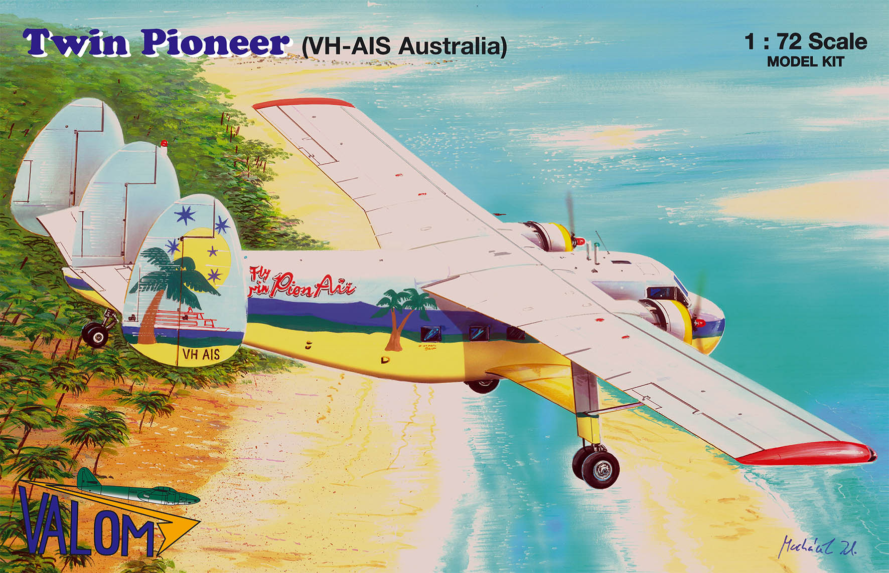 Valom Scottish Aviation Twin Pioneer (VH--AIS Australia)