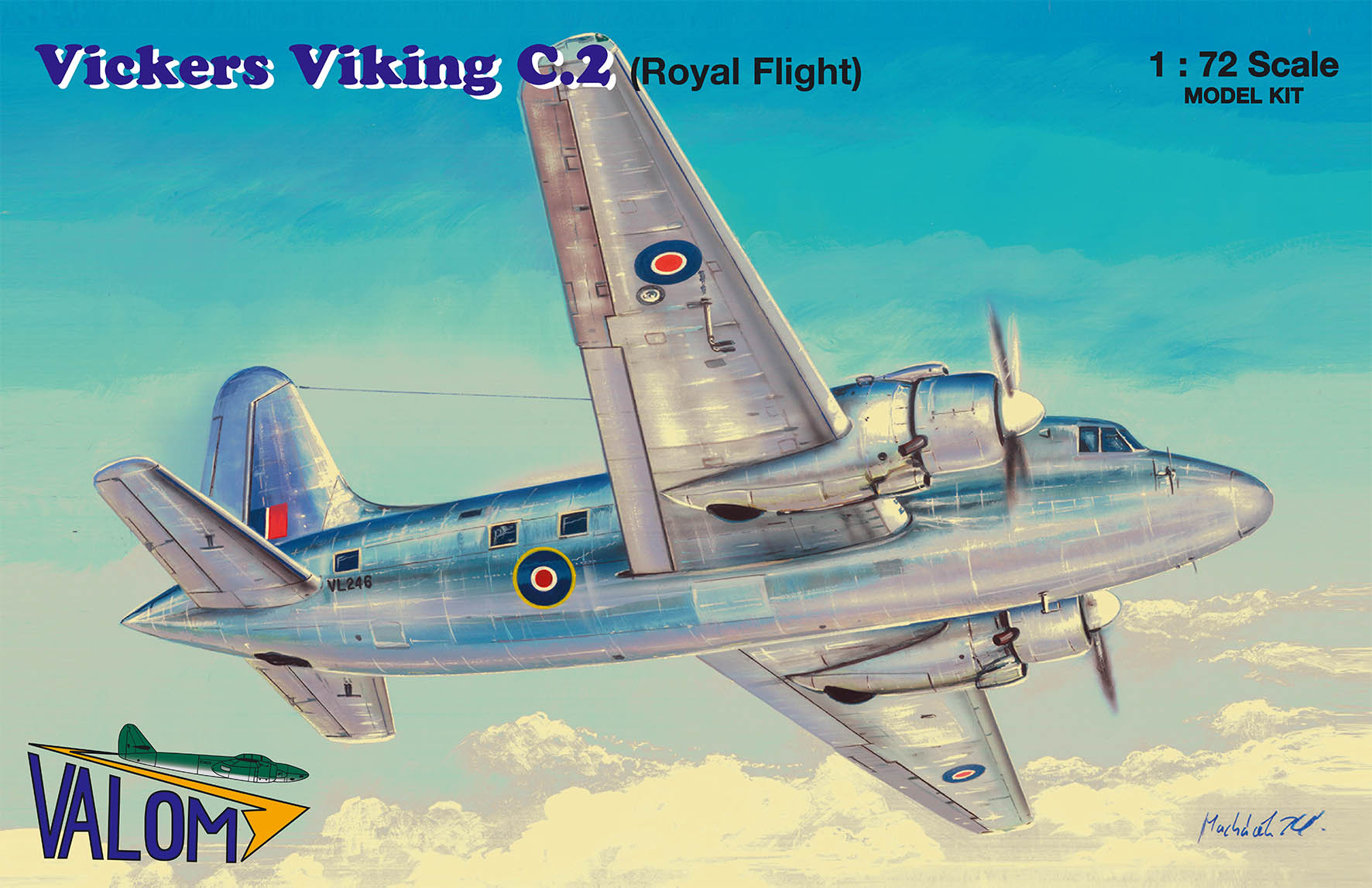 Valom Vickers Viking C.2 (Royal Flight)