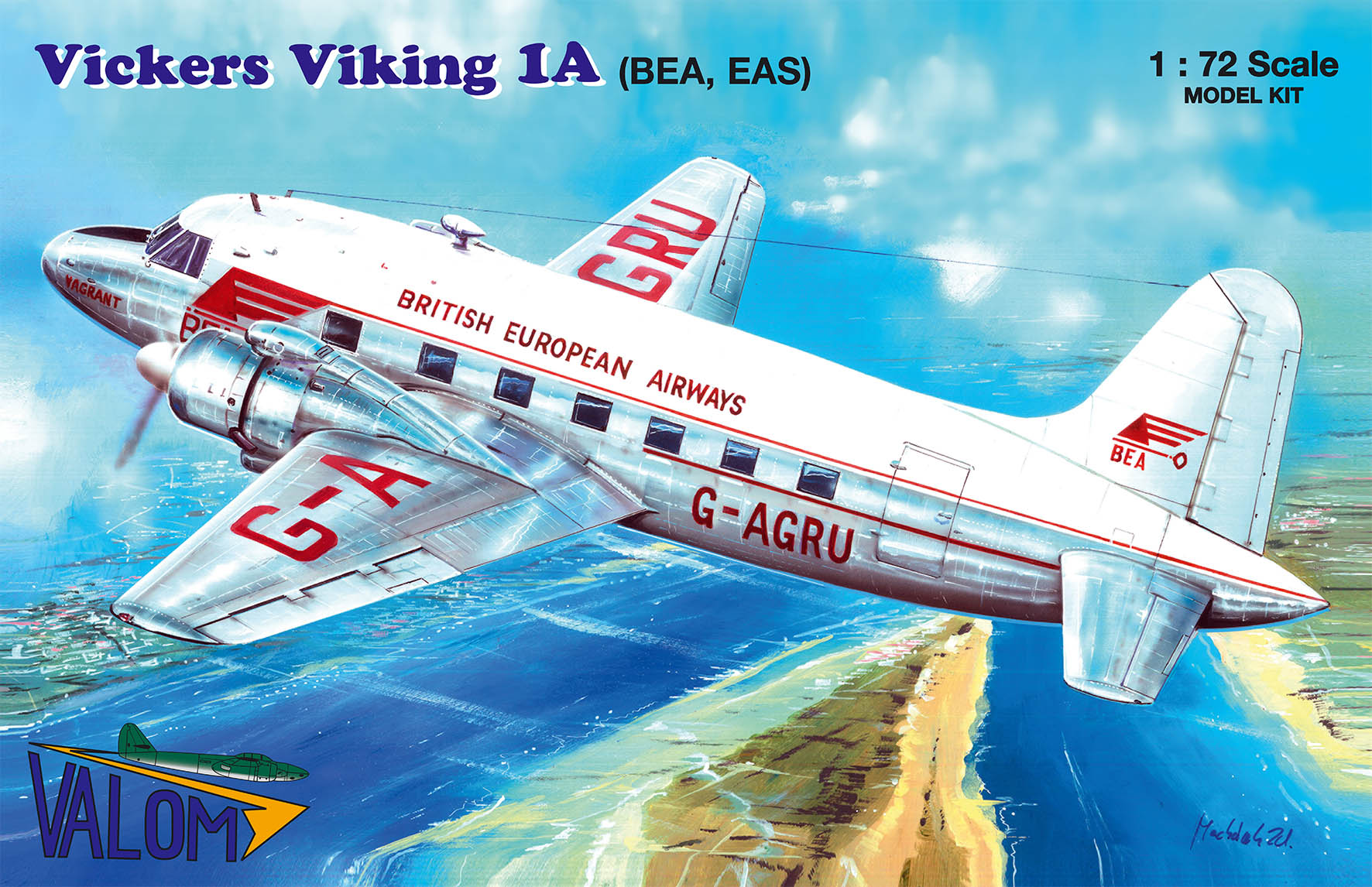 Valom Vickers Viking 1A (BEA, EAS)