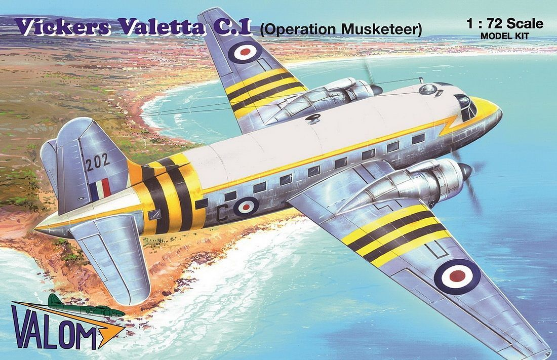Valom 1/72 Vickers Valetta C.1 (Operation Musketeer)