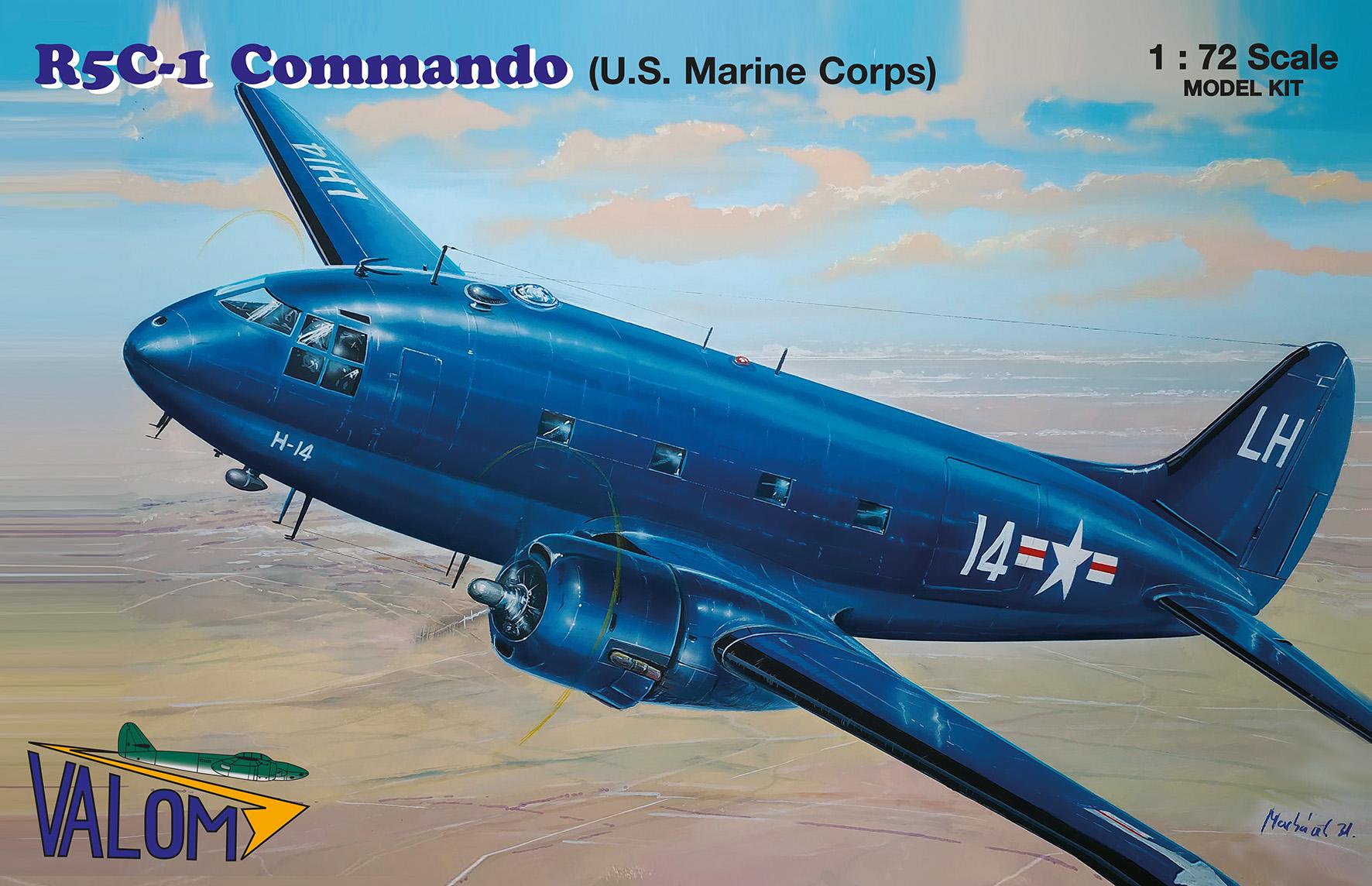 Valom 1/72 Curtiss R5C-1 Commando (U.S. Marine Corps)