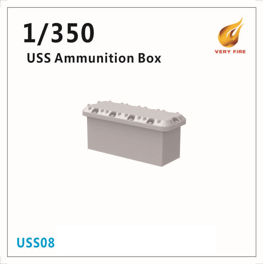 Very Fire 1/350 USS Resin Ammunition Box (30 Sets)