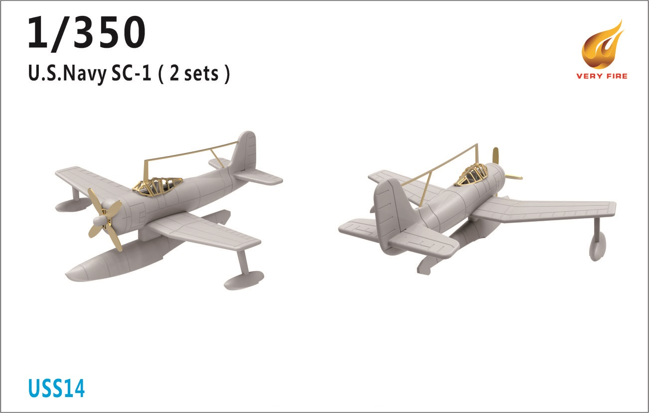 Very Fire 1/350 USS SC-1 Plane (2 Sets)