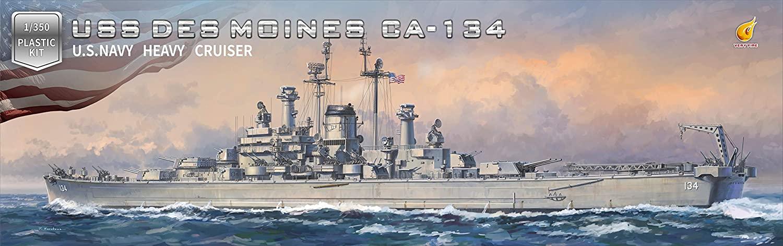 Very Fire 1/350 USS Des Moines DX version
