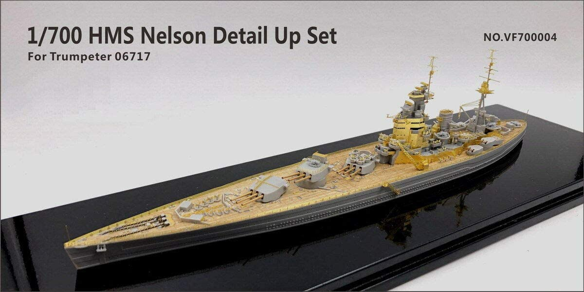 Very Fire 1/700 HMS Nelson Detail Up Set (For Trumpeter 06717)